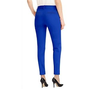 CLUB MONACO Ankle Cropped Straight Leg Trousers